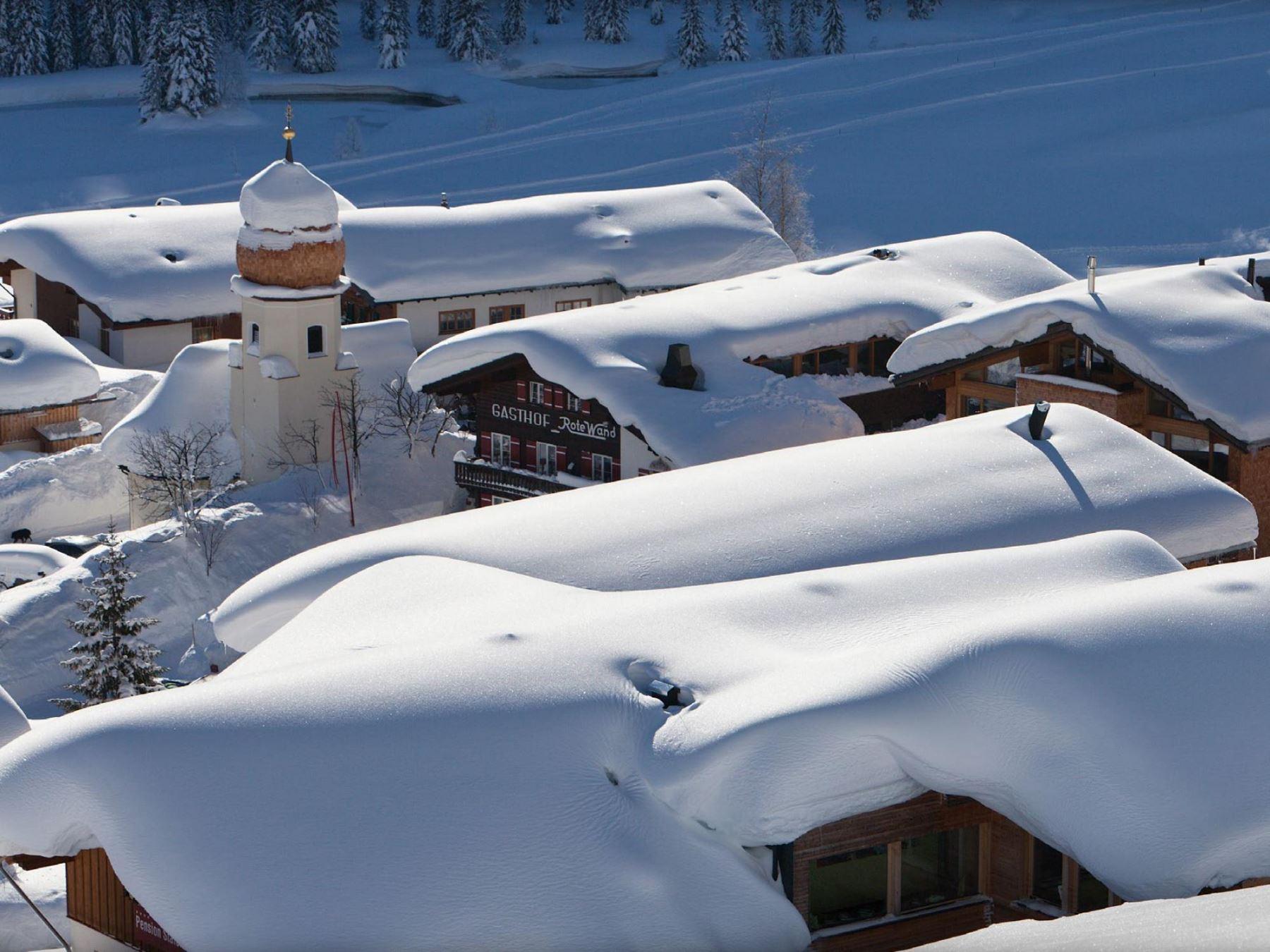 Gourmet Hotel Rote Wand in Lech am Arlberg, Ortsteil Zug